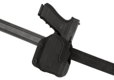 KNG-Open-Top-Holster-pour-Glock-17-GTL-Paddle-Black-Frontline