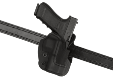 KNG-Open-Top-Holster-pour-Glock-17-Paddle-Black-Frontline