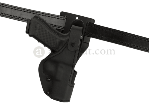 KNG Thumb-Spring Holster für Glock 17 Low Ride Black (Frontline)