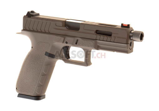 KP-13F TBC Full Auto Metal Version Co2 Tan (KJ Works)