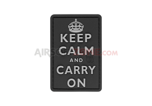 Keep Calm Rubber Patch SWAT (JTG)
