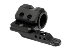 Keymod-Offset-Flashlight-Ring-Mount-Black-Leapers