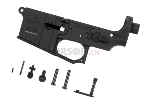 LVOA Lower Receiver Assembly Black (Krytac)