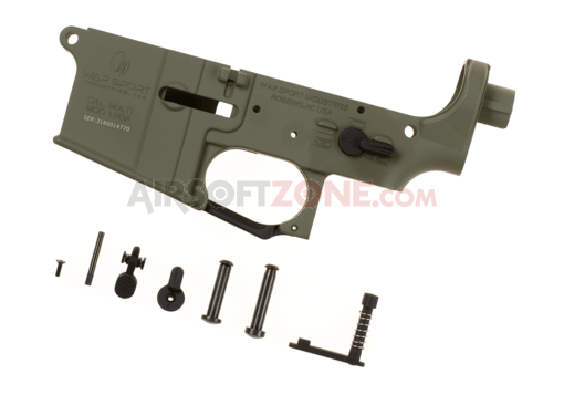 LVOA Lower Receiver Assembly Foliage Green (Krytac)