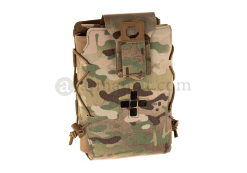 Laser Cut Large Horizontal Individual First Aid Kit Pouch Multicam (Warrior)