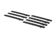 Low-Profile-Keymod-Rail-Panel-Covers-7pcs-Black-Leapers