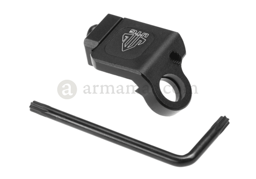 Low Profile Picatinny Angled QD Sling Swivel Adaptor (Leapers)