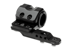 M-LOK-Offset-Flashlight-Ring-Mount-Black-Leapers