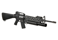 M16A3-with-M203-Grenade-Launcher-Black-G-P