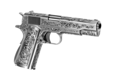 M1911-Etched-Full-Metal-GBB-Silver-WE