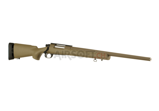 M24 SWS Bolt-Action Sniper Rifle Fluted Barrel Tan (Cyma)