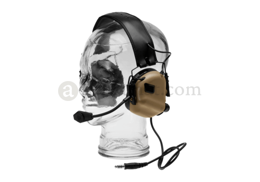 M32 Tactical Communication Hearing Protector Dark Earth (Earmor)