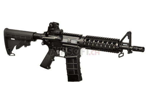 M4 CQB Full Metal GBR Black (KJ Works)