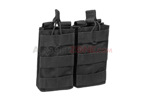 M4 Double Open-Top Mag Pouch Black (Condor)