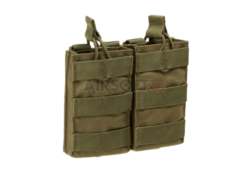 M4 Double Open-Top Mag Pouch OD (Condor)