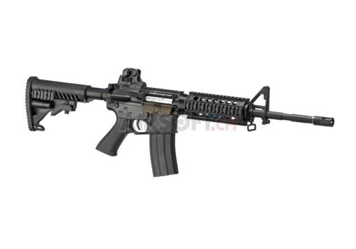 M4 RIS Blowback Black (APS)