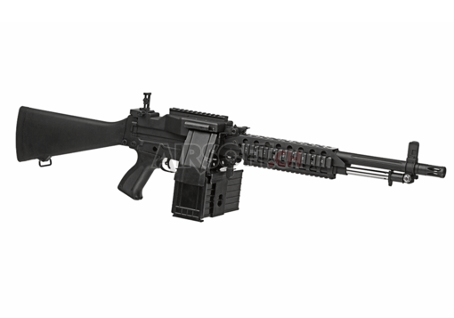M63A1 Tactical Rail Version Black (G&P)