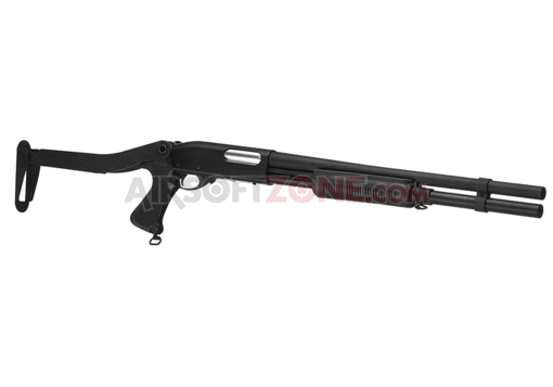M870 Steel Folding Stock Long Shotgun Black (G&P)