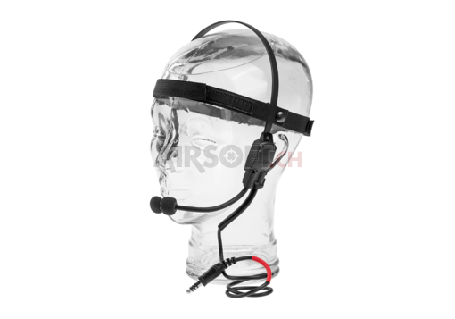MH180-V Atlantic Signal Headset Black (Z-Tactical)