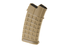 Magazine-AUG-Lowcap-70rds-Tan-Battle-Axe