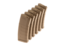 Magazine-K120-M4-Midcap-120rds-6-pack-Dark-Earth-KWA