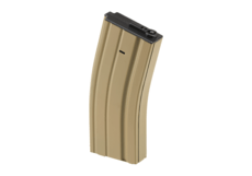 Magazine-M4-Lowcap-70rds-Tan-Battle-Axe