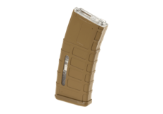 Magazine-M4-Polymer-Hicap-350rds-Tan-Battle-Axe