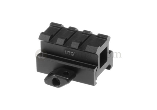Medium Profile 3-Slot Twist Lock Riser Mount (Leapers)
