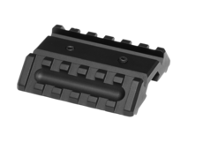 Metal-Dual-Offset-Rail-Interface-Mount-Black-Element