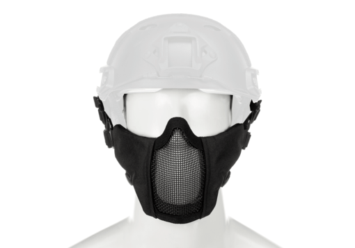 Mk.II Steel Half Face Mask FAST Version Black