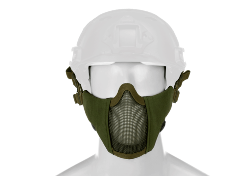 Mk.II Steel Half Face Mask FAST Version OD
