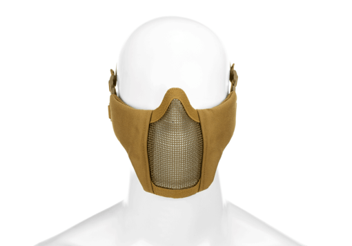 Mk.II Steel Half Face Mask Tan
