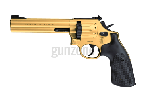 Model 586 6 Inch Co2 Gold Pellet (Smith & Wesson)