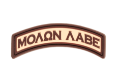 Molon-Labe-Tab-Rubber-Patch-Desert-JTG