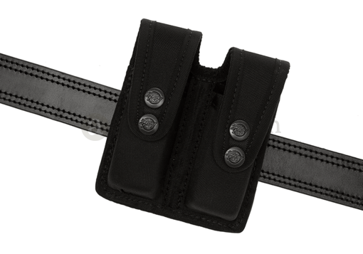 NG Double Pistol Mag Pouch for Glock Black (Frontline)