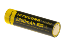 NL1823-18650-Battery-3.7V-2300mAh-Nitecore