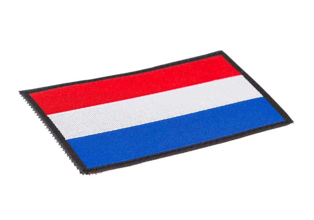 Netherlands Flag Patch Color