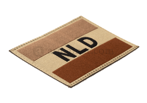 Netherlands Flag Patch Desert (Clawgear)