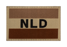 Netherlands-Flag-Patch-Desert-Clawgear