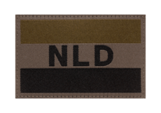 Netherlands-Flag-Patch-RAL7013-Clawgear