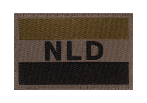 Netherlands Flag Patch RAL7013
