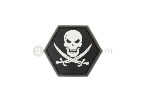 No Fear Pirate Rubber Patch SWAT (JTG)