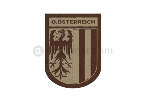 Oberösterreich Shield Patch Desert (Clawgear)