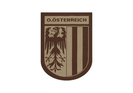 Oberösterreich Shield Patch Desert