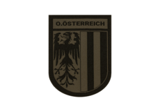 Oberösterreich-Shield-Patch-RAL7013-Clawgear