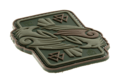 Odins Raven Rubber Patch Multicam (JTG)