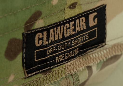 a075a54b79 Off-Duty Shorts Multicam (Clawgear) S - Short Pants - Pants - Garments -  airsoft.ch Online shop
