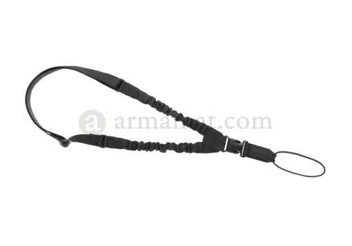 One Point Elastic Support Sling Paracord Black (Clawgear)