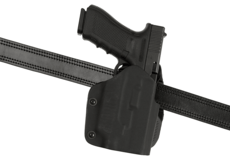 Open-Top-Kydex-Holster-for-Glock-17-GTL-Paddle-Black-Frontline