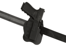 Open-Top-Kydex-Holster-for-Glock-19-Paddle-Black-Frontline